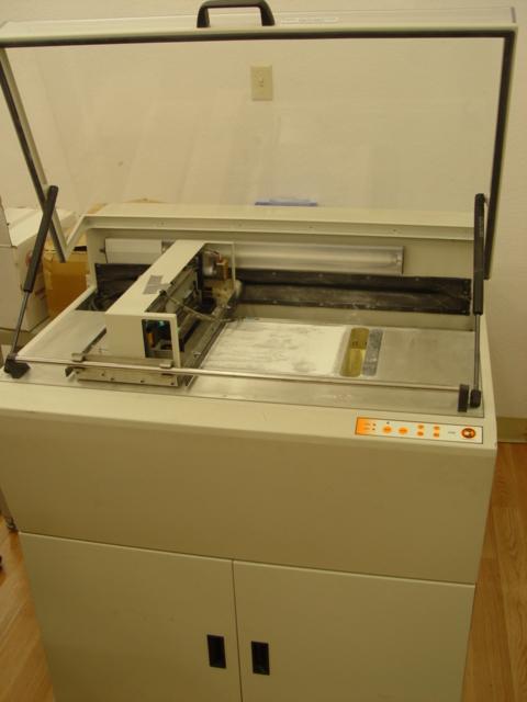 The new 3D printer.