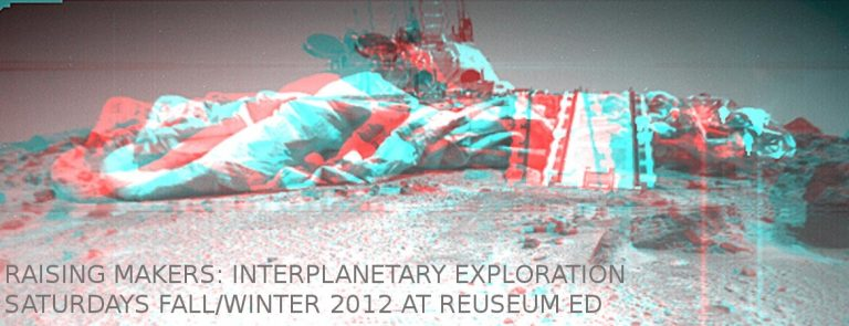 A poster for our Interplanetary Exploration workshop.