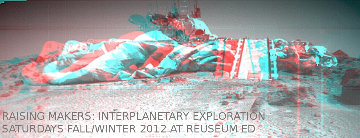 Raising Makers- Interplanetary Exploration