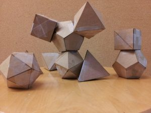 A picture of atomic polygons.