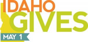 The Idaho Gives logo.