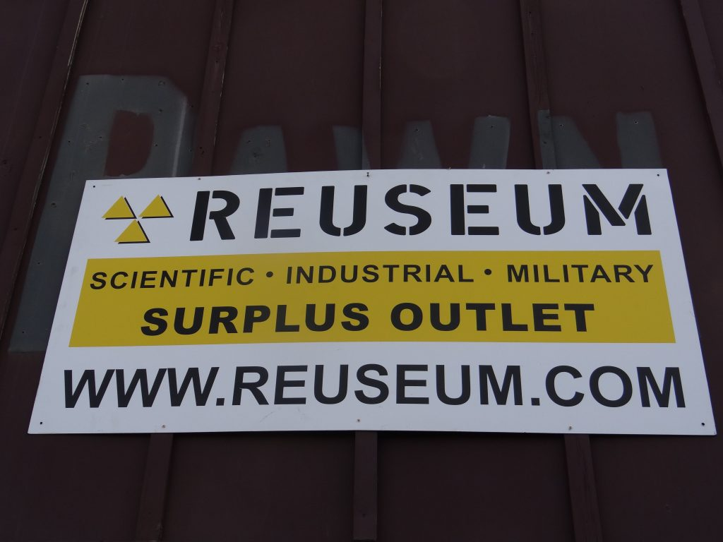 Come on down to the Reuseum and find out about all the items we carry!