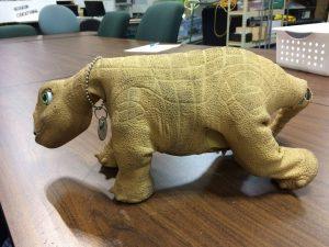 A dinosaur to deconstruct!