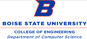 The Boise State Computer Science Department logo.