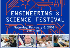 Boise state engineering and science festival poster.
