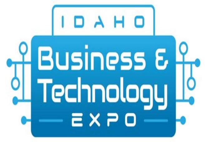 Idaho business and technology expo logo.