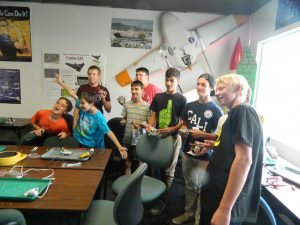 A picture of the students.