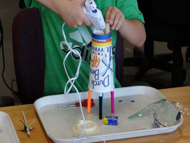 Doodle Bot construction is underway!