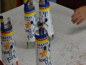 The Doodle Bots march!