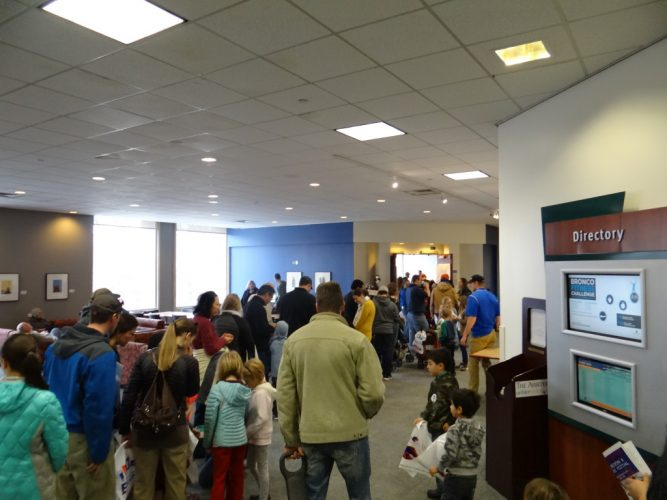 A picture of the Boise Engineering and Science Festival.