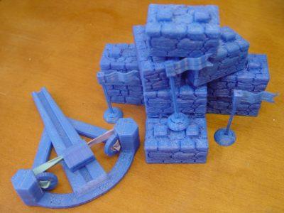 Seej is a desktop game that you make on a 3D printer.